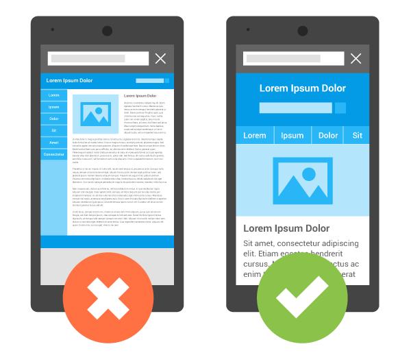 mobil uyumlu tasarım